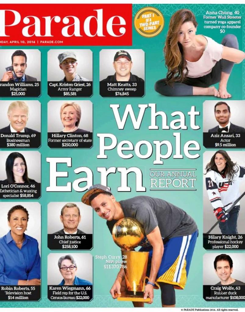Parade Magazine Craig Wolfe CelebriDucks