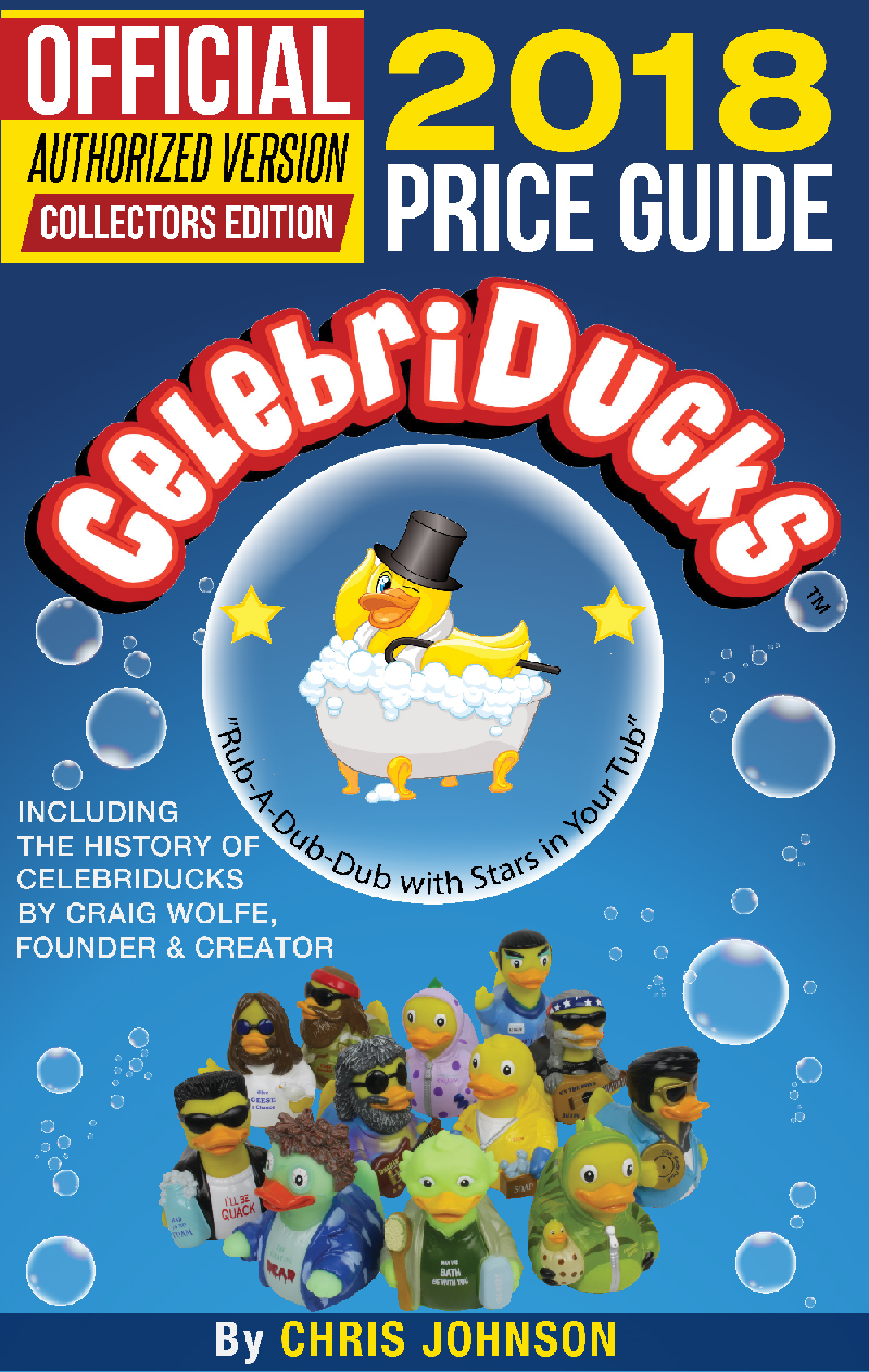 History and Value of CelebriDucks rubber duck characters