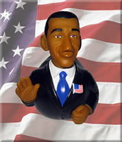 Meet President Barack Obama, a collectible limited edition rubber duck