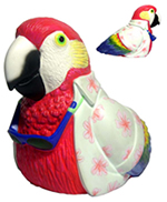 Custom promotional products - Unique parrot toy