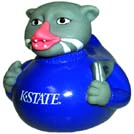 Kansas State - Willie Rubber Duck