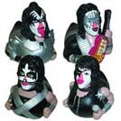 Kiss Set Rubber Duckies