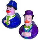 Laurel & Hardy Rubber Duckies