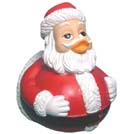 Santa Claus Rubber Duckie (First Edition)