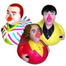 The Three Stooges Rubber Duckies