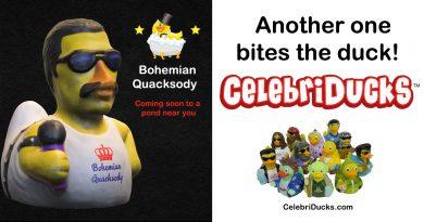 Bohemian Quacksody custom rubber duck characters