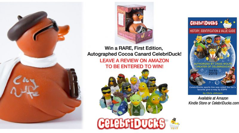 Win a collectible signed celebriduck book review