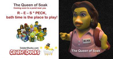 CelebriDucks Custom Rubber Duck Characters