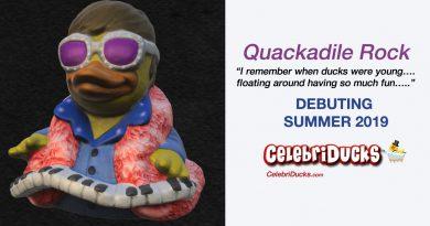 Musician rubber ducks celebriducks characters