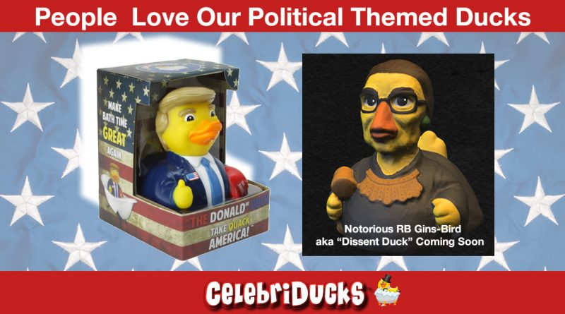 donald trump president rubber ducks