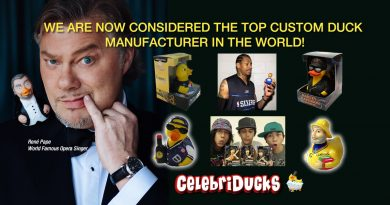 Custom rubber ducks and promotional items