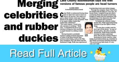 North bay business journal interview CelebriDucks